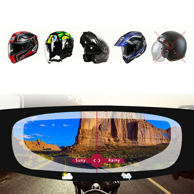 Universal Motorcycle Helmet Anti Fogging Paster Rain-proof Uv Protection Sticker