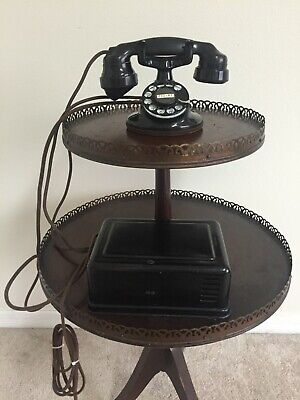 antique western electric 102 telephone and 634A Subset, Working