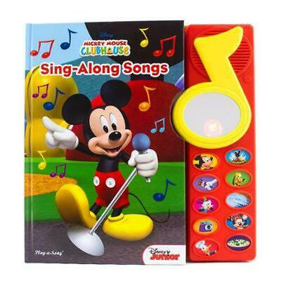 Mickey Mouse Clubhouse Sing-Along Songs Book Free Shipping!