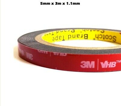 3M™ VHB™ 5mm Double Sided Acrylic Foam Adhesive Heavy Duty Mounting Tape