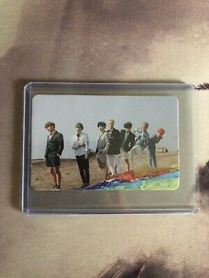 BTS Bangtan Boys Memories of 2016 Official Photo Card Group Young Forever