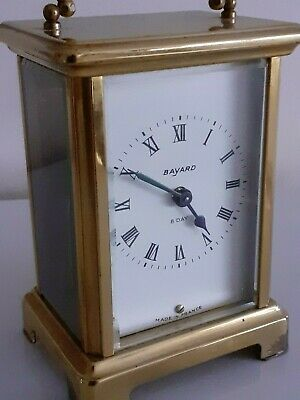 Carriage clock by Bayard of France. Platform Movement  Duverdrey & Bloquel 57221