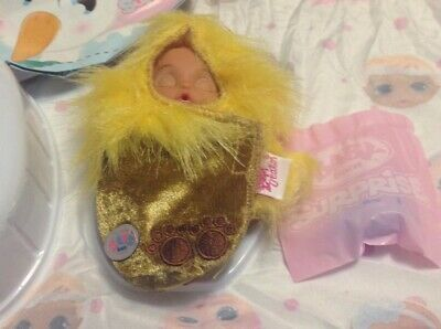 Baby Born Surprise Series 2, New,, Laughing Lion Doll