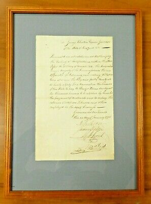 1794 Letter to George Clinton (Vice President) About Building New York City
