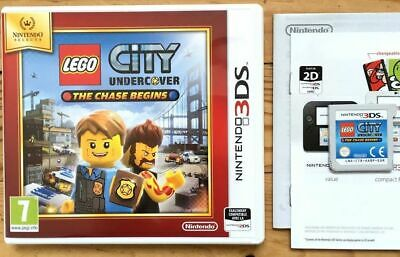 Lego City Undercover The Chase Begins Complet Nintendo 3Ds Pal Français Cib Ovp