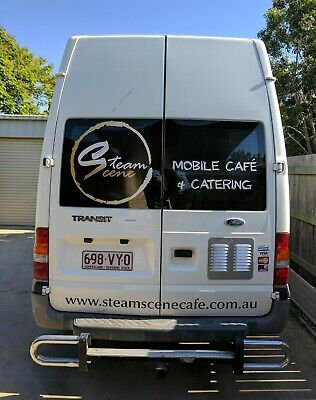 Coffee and food van for sale