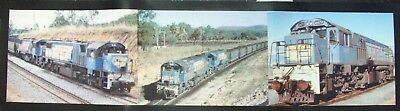 Queensland Rail 2400 Class Locomotive Bar Runner / Work Mat