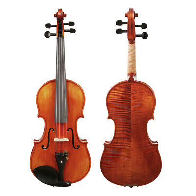 Full Size 4/4 Acoustic Violin Fiddle Stringed Instrument For Music Lovers I5X0