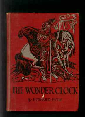 The Wonder Clock by Howard Pyle - Hardcover 1915 - Lots of Illustrations