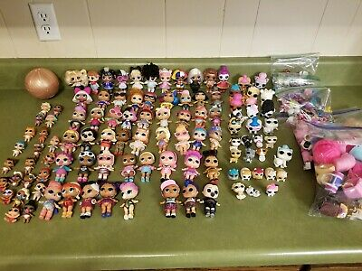 HUGE 100+ LOL Surprise Doll MIXED LOT Big Sisters Lil Sisters Pets Accessories