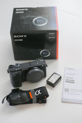 Sony Alpha a6300 ILCE-6300/B Mirrorless Interchangeable-lens Camera - Body Only