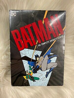 Batman: The Complete Animated Series (Region 1 DVD - 2008) Factory Sealed!