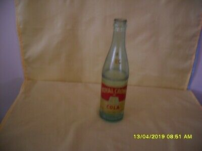 Vintage Green Royal Crown Rc Cola 10 Oz. Bottle - Nehi Corp.  - Lexington, Ky