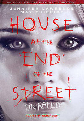 House at the End of the Street (DVD, 2013) Unrated Jennifer Lawrence