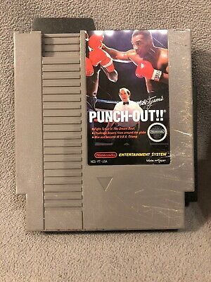 Mike Tyson's Punch Out NES Nintendo Entertainment System Original Game Cartridge