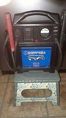 Used, Cornwell Quality Tools 12 Volt Power Supply & Jump Starter-