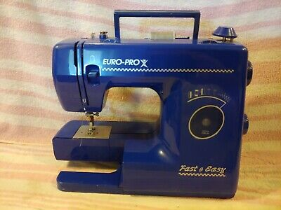 Shark Euro-Pro X Sewing Machine fast & easy with no electric attachment