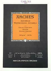 Arches Aquaelle Watercolour Pads - Rough - Choose Your Size