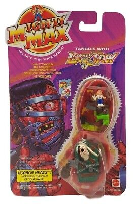 Mighty Max Tangles With Lockjaw Horror Heads 1993  Bluebird