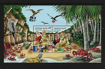 CHRISTMAS ISLAND 2012 Christmas, No.3, mint mini sheet, MNH MUH