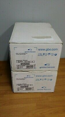 NEW Greiner Bio-One 96-well No Bottom Microplates, Clear, Case of 70, #655000