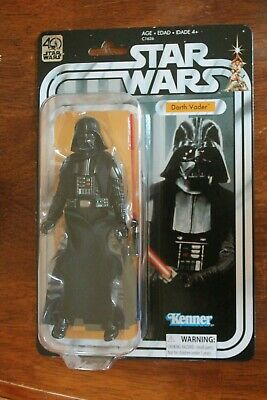 "40th Anniversary Darth Vader vintage collection Black Series 6 inch "" STAR WARS"