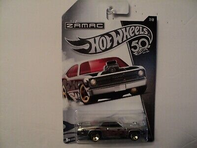 Hot Wheels 50Th Years Plymouth Buster Thruster  Zamac