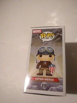 Funko POP Captain America #219 ECCC 2017 Spring Convention Exclusive