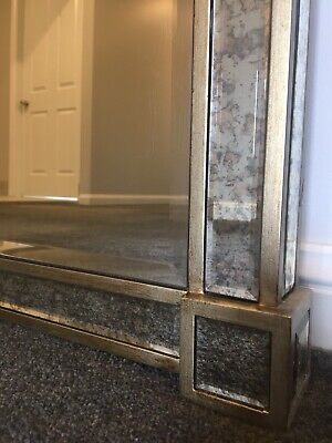 Large mirror antique gold - New