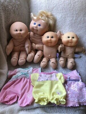 4 Cabbage Patch Dolls For Restoration