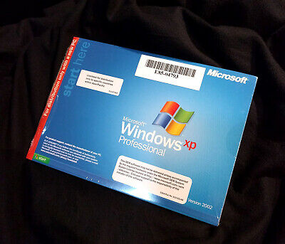 Windows XP Professional OEM software 2002 CD + Booklet + Poduct key - Brand New