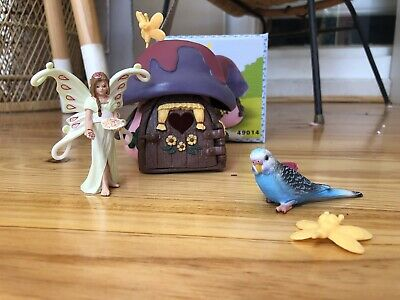 Schleich Fairy , Budgie And Fairy Home