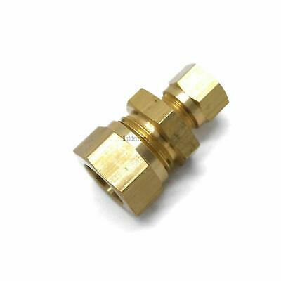 British Made 15mm TO 8mm Reducing Brass Compression Fitting