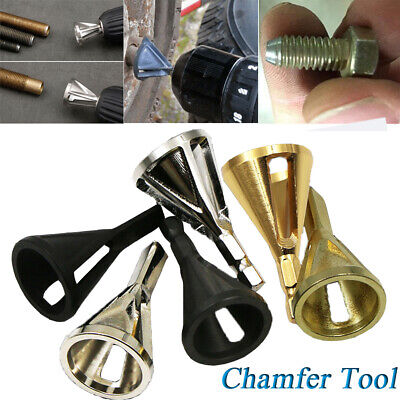 Damaged Bolts Remove Burr Tools TOP Deburring Drill External Chamfer Bit
