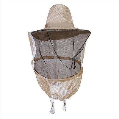 Beekeeping Beekeeper Cowboy Hat Mosquito Bee Insect Net  Face Head Protec PK  IY