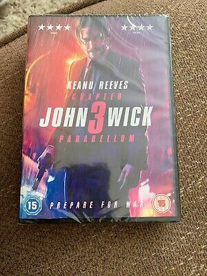 John Wick: Chapter 3 - Parabellum [2019] (DVD) Keanu Reeves, Halle Berry New