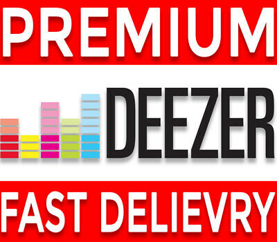 🔥🎧Deezer premium 3 Months (personal account) Fast delievry Music Subscription