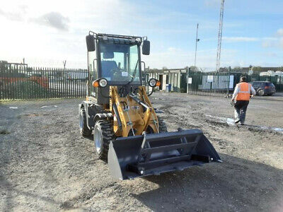 Wheel Loader Loading Shovel, Quick Hitch Gunstig 908 new Bucket Pallet forks
