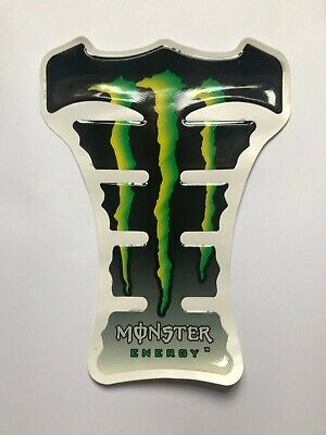 Monster Motorcycle Tank Pad Protector # Motorbike Spine Oxford Sticker