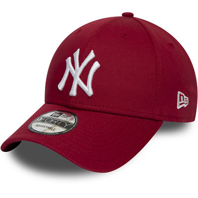 New Era New York Yankees Baseball Cap.9Forty Mlb League Essential Cotton Hat 9W2