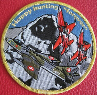 Swiss Air Force PATROUILLE SUISSE Happy hunting forever Original 1992-2012
