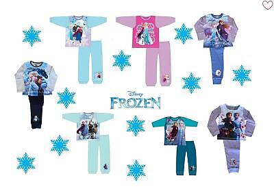 Kids Girls Frozen Pajamas Disney Character Elsa Anna