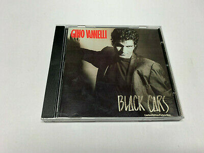 Gino Vannelli - BLACK CARS - Limited Edition Picture Disc - CD © 1984/??