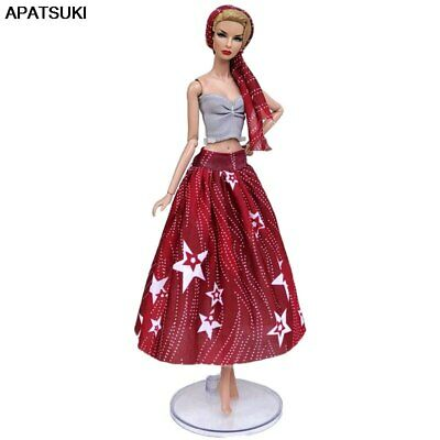 """Fashion Doll Clothes Set For 11.5"""" Doll Outfits Party Gown 1/6 Dolls Accessories"""