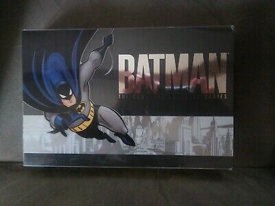 Batman The Complete Animated Series (17 DVD DISCS) Box Set USED READ DESCRIPTION