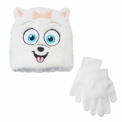 Secret Life of Pets Girls Gidget Hat and Gloves New With Tags