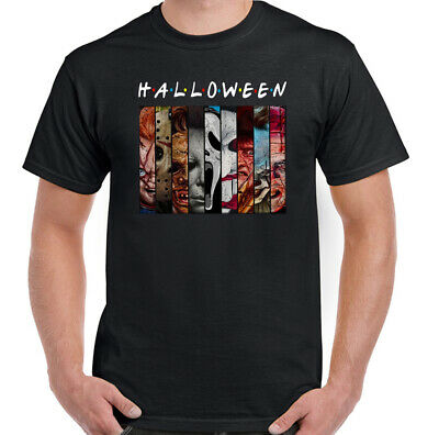 HALLOWEEN T-Shirt Pennywise Chucky Freddy Krueger Jason Scream Horror Hellraiser
