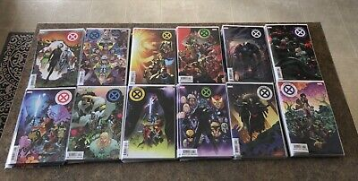 House of X & Powers Of X 1-6 Complete Sets.  All First Prints PLUS NEW XMen 1