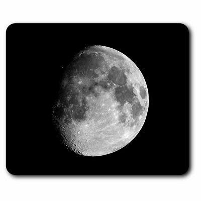 Computer Mouse Mat - Awesome Moon Planet Space NASA Office Gift #8939