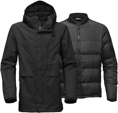 THE NORTH FACE ANTIFREEZE TRICLIMATE - DOWN insulated 3 in 1 MEN'S COAT - XL